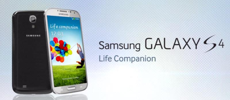 Samsung GALAXY S 4 Banner