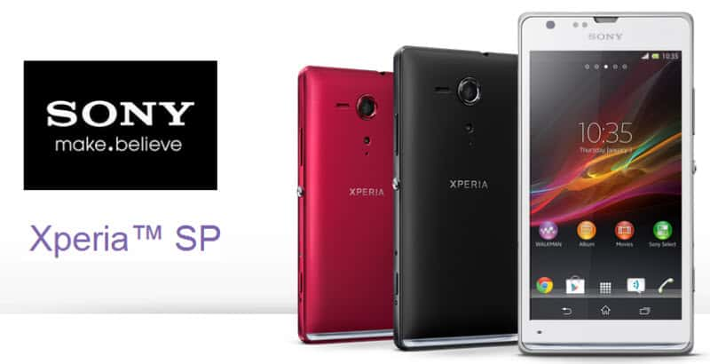 Sony Xperia SP Banner