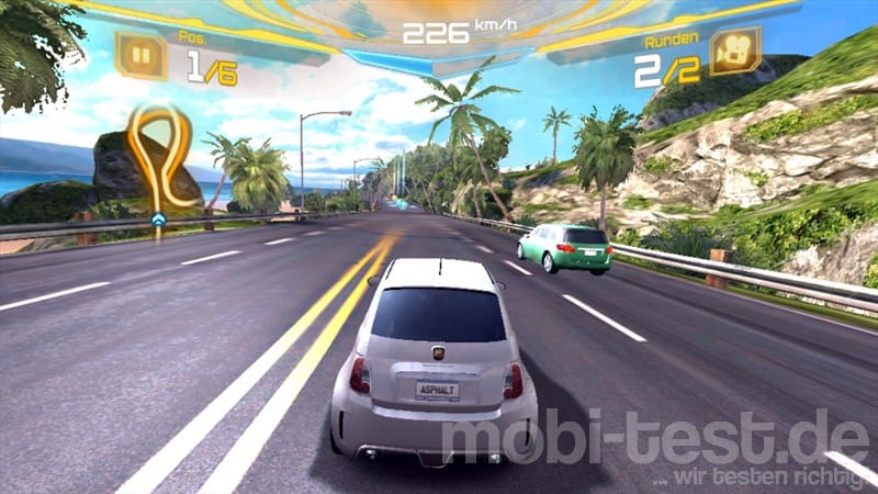 Windows Phone 8 Asphalt 7