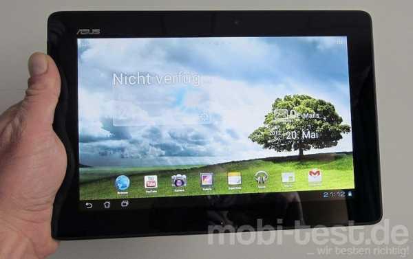 asus transformer pad tf300t das 10 1 zoll tablet im test. Black Bedroom Furniture Sets. Home Design Ideas