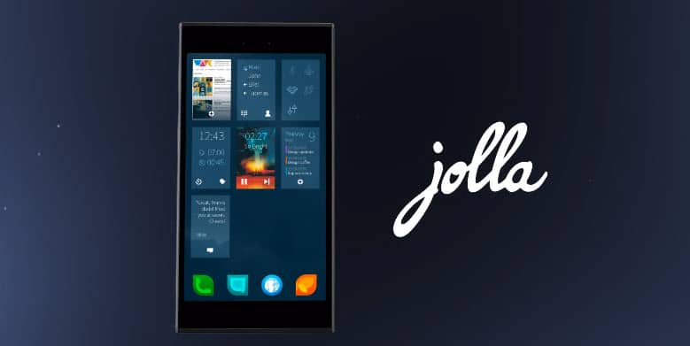 Jolla Sailfish Phone Banner