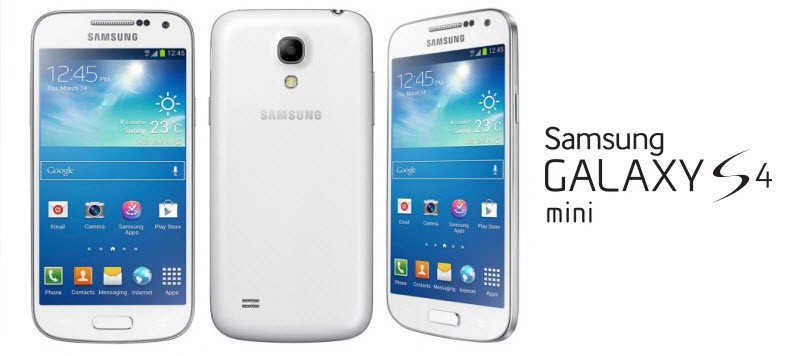 Samsung Galaxy S4 Mini Banner