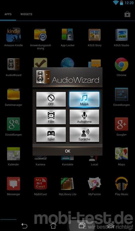 ASUS Memo Pad ME172V_Audio Wizard
