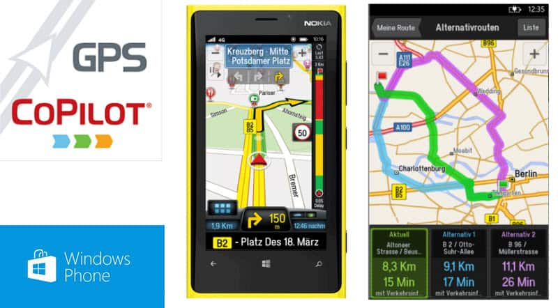 CoPilot Windows Phone