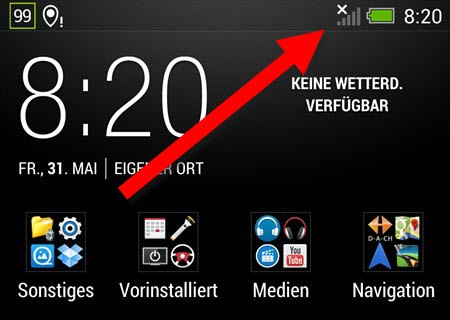 HTC One Bug