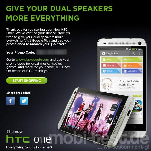HTC One Promo 2