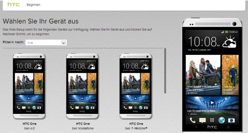 HTC One Starter