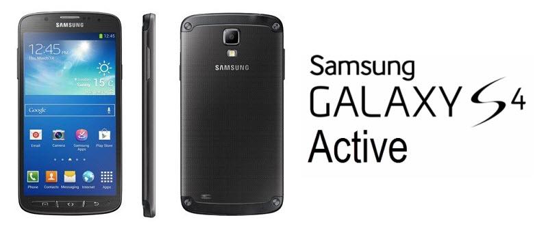Samsung Galaxy S4 Active Banner