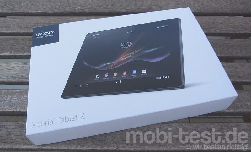 Sony Xperia Tablet Z Unboxing (1)