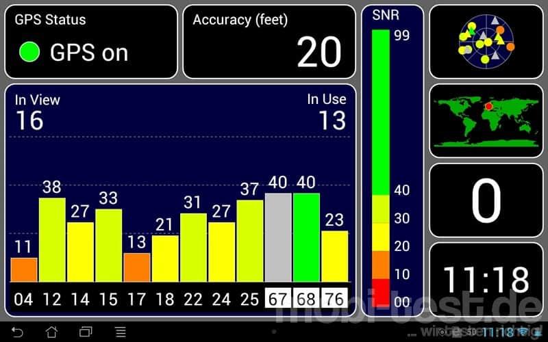 ASUS MeMo Pad Smart 10 ME301T GPS