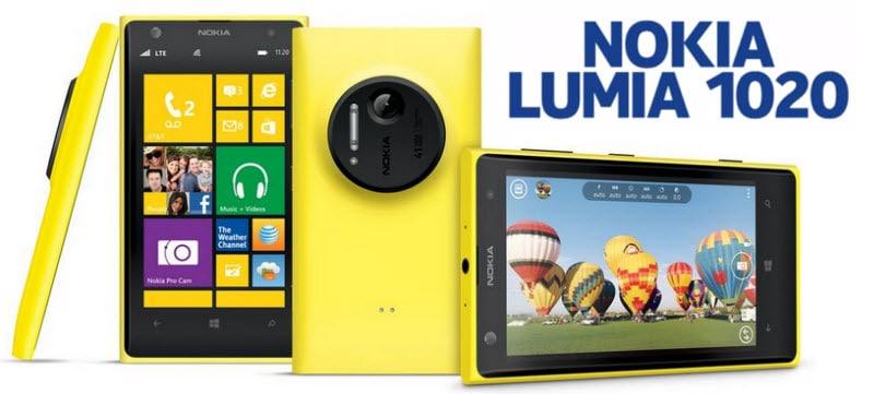 Nokia Lumia 1020 Banner