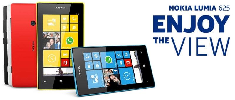 Nokia Lumia 625 Banner