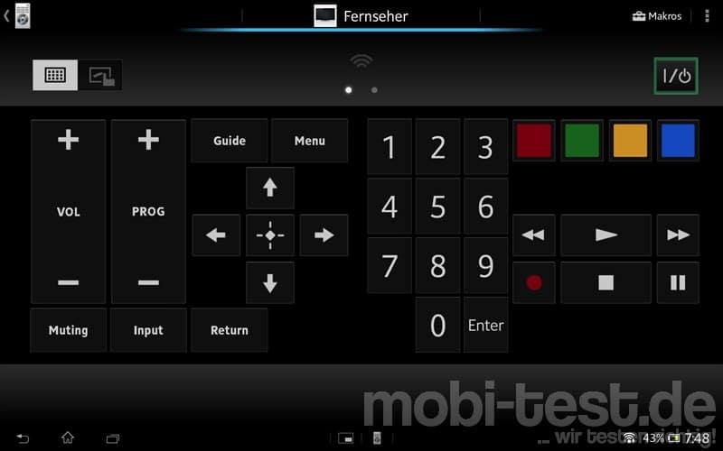 Sony Xperia Tablet Z Fernbedienung (3)