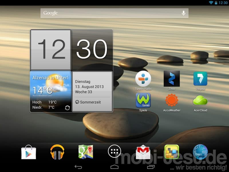 Acer Iconia A1-810 Homescreen (1)