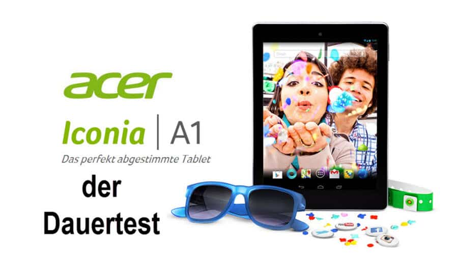 Acer Iconia B1 Test Banner