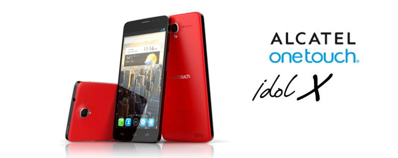 Alcatel One Touch Idol X_Banner