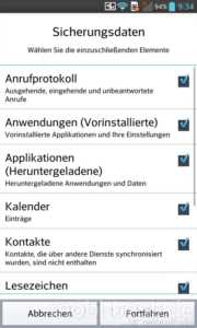 LG Optimus G Backup