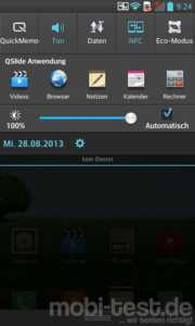 LG Optimus G Notification