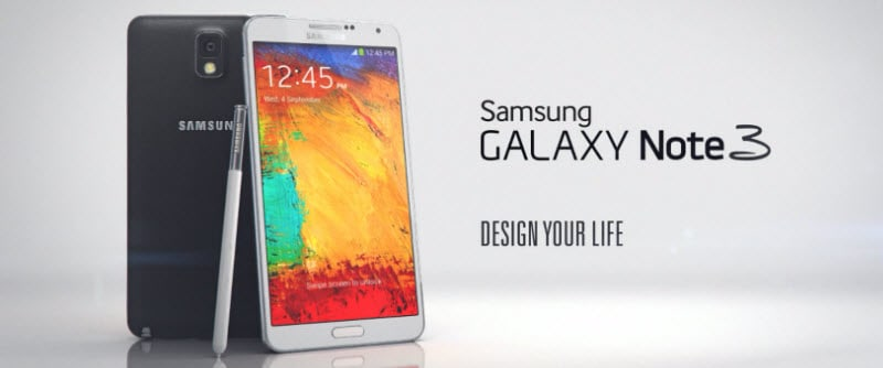 Samsung Galaxy Note 3 Banner