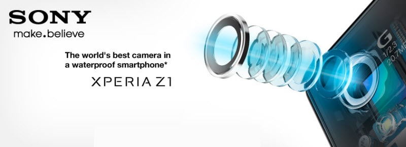 Sony Xperia Z1 Banner
