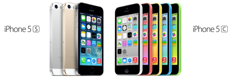iPhone 5C iPhone 5S Banner