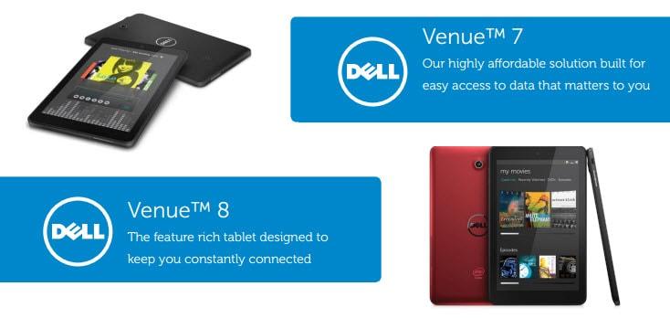Dell Venue 7 8 Banner