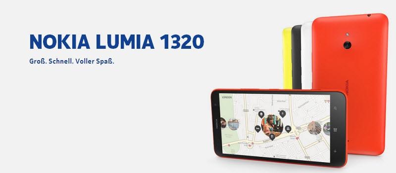 Nokia Lumia 1320 Banner