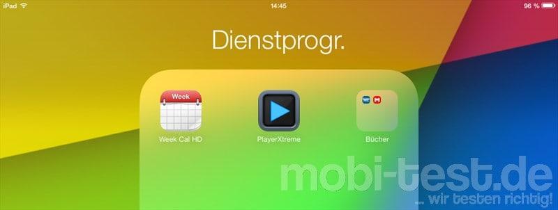 Unterordner iOS7