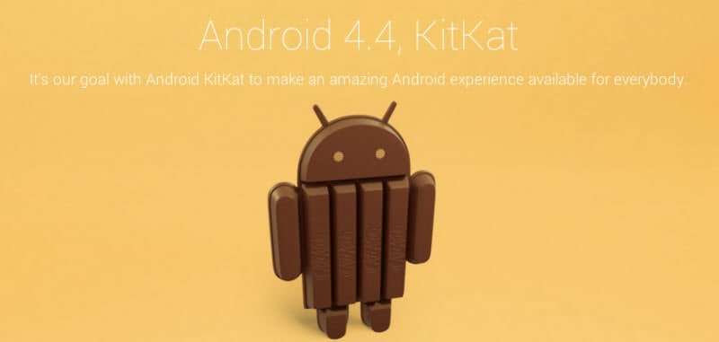 Android 4.4 KitKat Banner