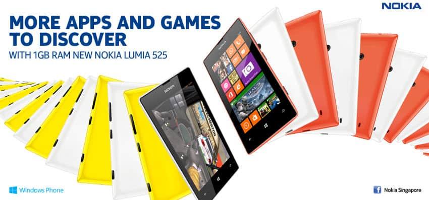 Nokia Lumia 525 Banner