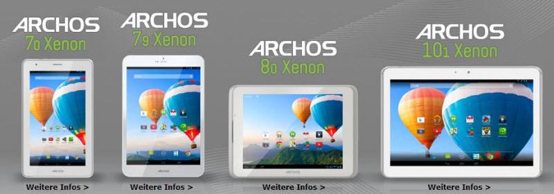 Archos xenon Banner