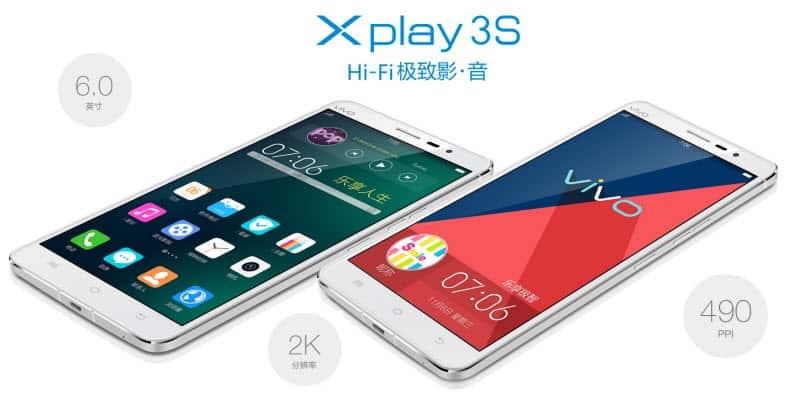 Vivo Xplay 3S Banner