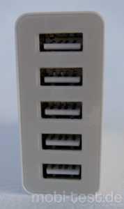 Anker 40W 5V  8A 5-Port USB Ladegerät (5)