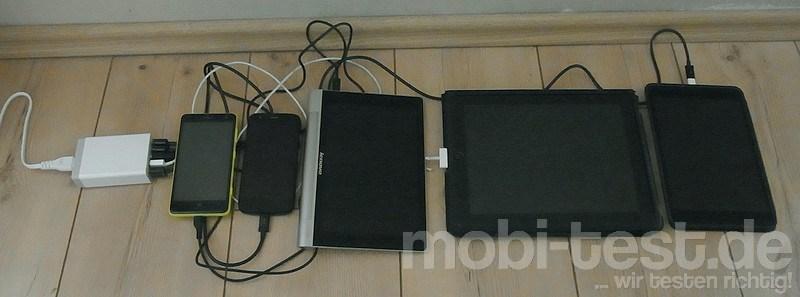 Anker 40W 5V  8A 5-Port USB Ladegerät (9)