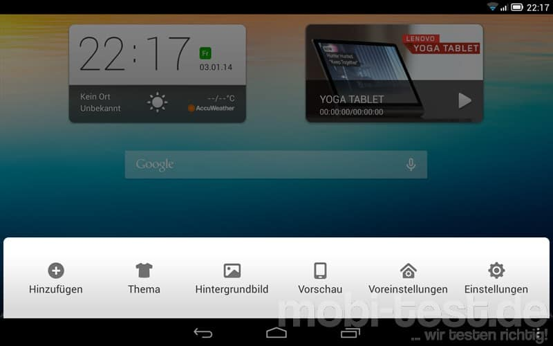 Lenovo Yoga Tablet 8 Screenshots (5)