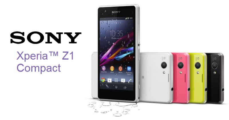 Sony Xperia Z1 Compact Banner