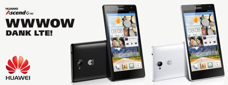 HUAWEI Ascend G740_Banner