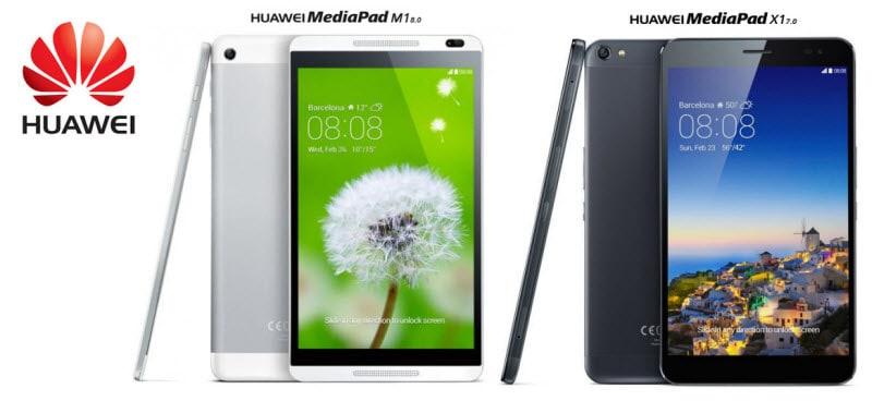 HUAWEI MediaPad M1 X1  Banner