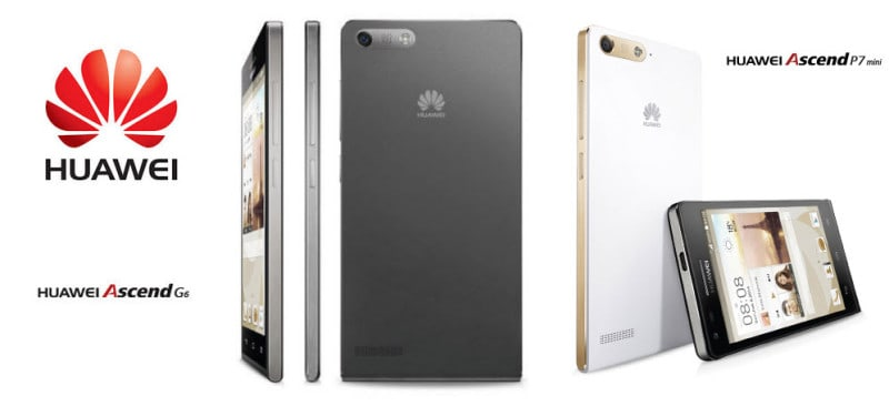 Huawei Ascend G6 P7 Mini Banner