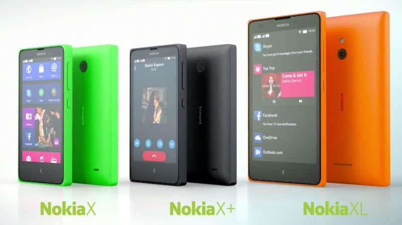 Nokia X, Nokia XL, Nokia X+ Banner