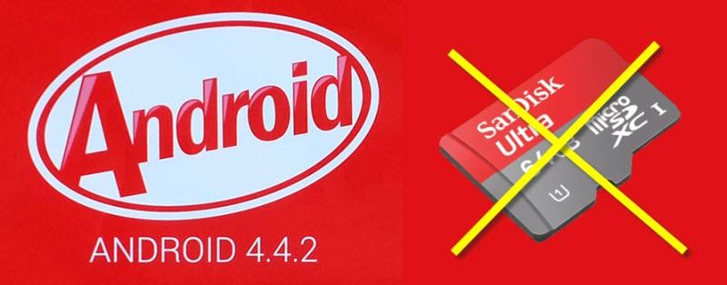 Android KitKat Schreibrechte