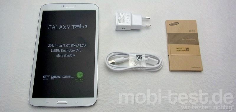 Samssung Galaxy Tab 3 8.0 Unboxing (2)