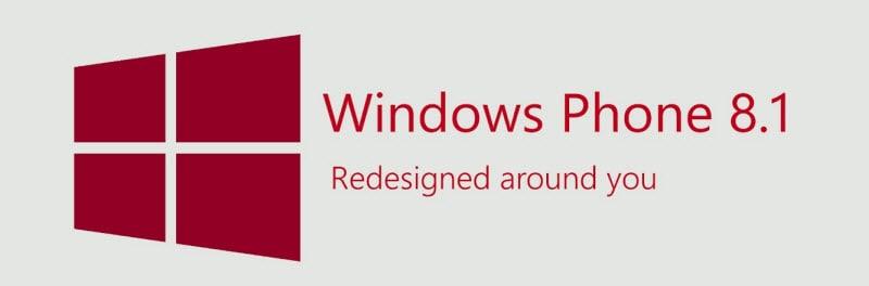 Windows Phone 8.1 Banner