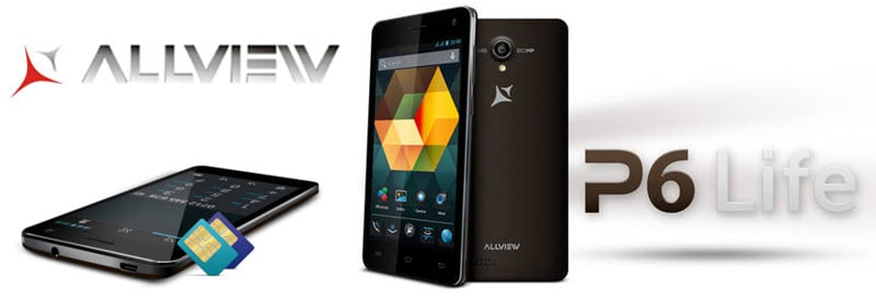 Allview P6 Life Banner