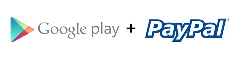 Google Playstore ud PayPal