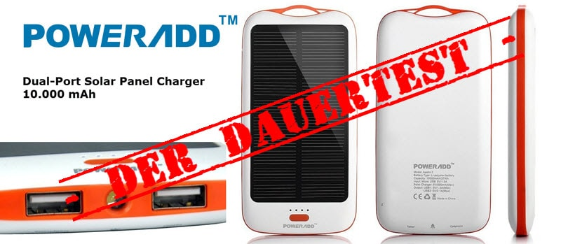 PowerAdd Solar Panel Charger 10000 mAh_Banner