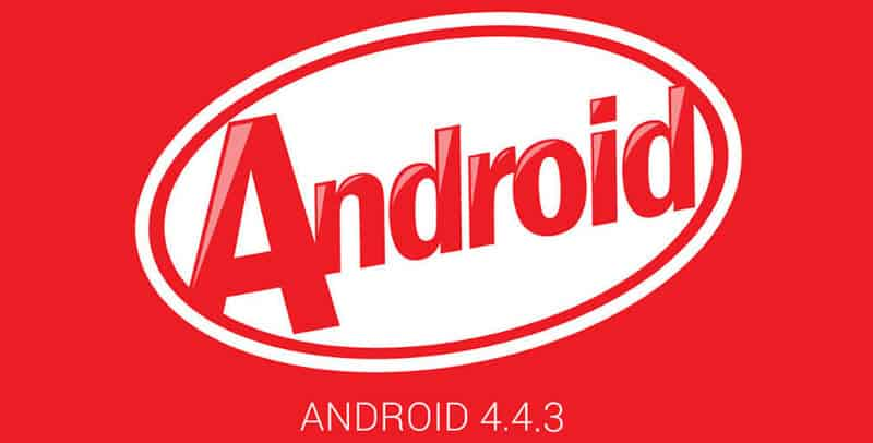 Android 4.4.3 Banner