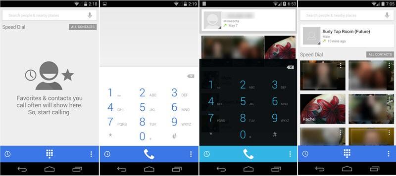 Android 4.4.3 KitKat Dialer