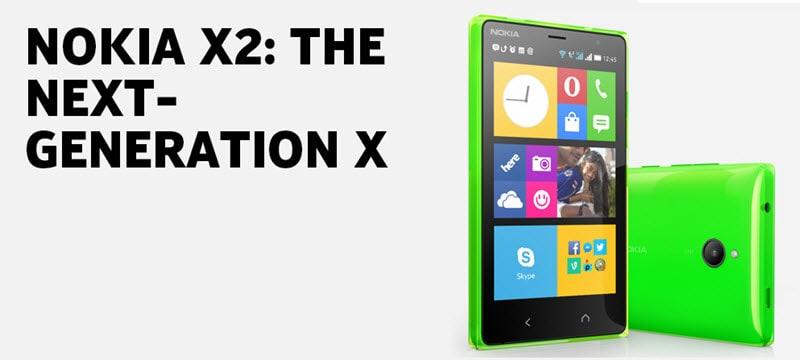 Nokia X2 Banner
