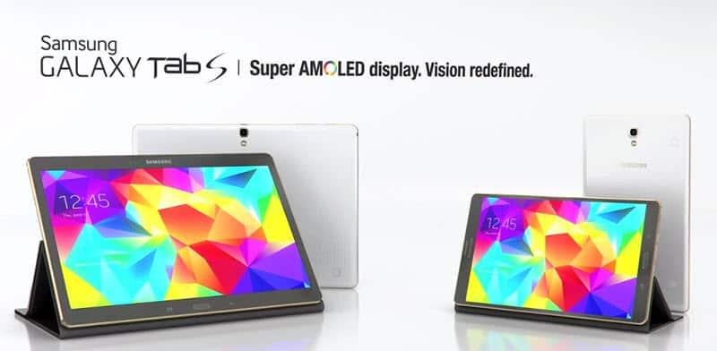 Samsung Galaxy Tab S Banner